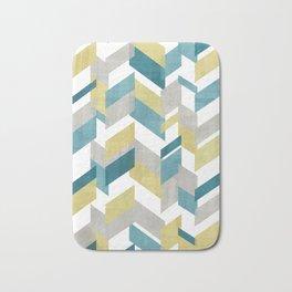 Bright geometrical pattern Bath Mat