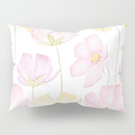 colorful cosmos flower Pillow Sham