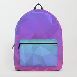 Jewel Tones - Flipped Backpack