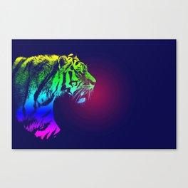 Tiger Poster Canvas Print