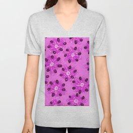 Lavender Desert Rose Unisex V-Neck