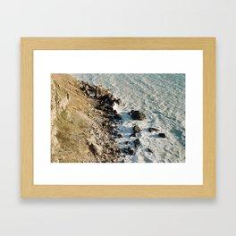 Jurrasic coast, Dorset, UK Framed Art Print