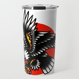 American traditional eagle Travel Mug