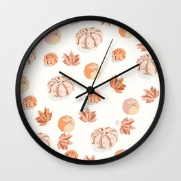 Autumn must have Wall Clock