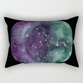 Trust the Universe Black Rectangular Pillow