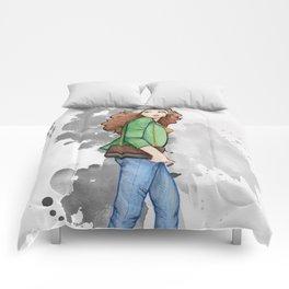 Rogue / Malicia - Watercolor Comforters