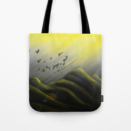 Journey Into Sunlight Tote Bag