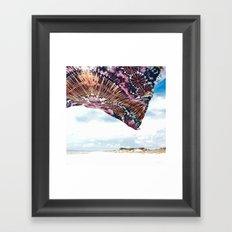 life is a beach - wanderlust Framed Art Print
