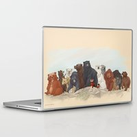 hobbit Laptop & iPad Skins featuring Hobbit bears by AiWa