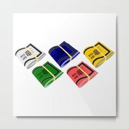 5 Bands Ryu4hd Light Metal Print