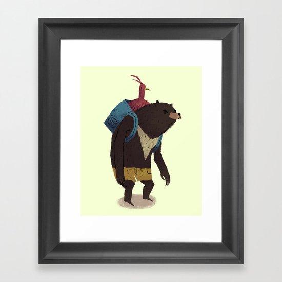 banjo Framed Art Print