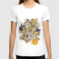movies T-shirts featuring Movies Explosion by zaMp