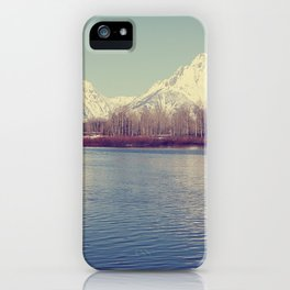 Grand Tetons on the Lake iPhone Case