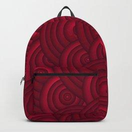 Dark Red Backpack