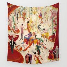 Florine Stettheimer  Spring Sale at Bendel's Wall Tapestry