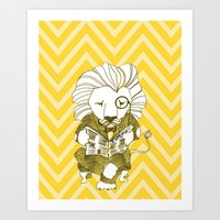 Dandy Lion Art Print