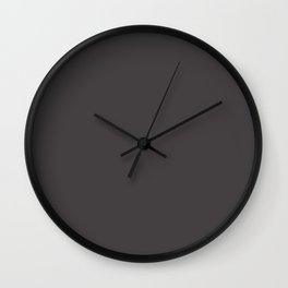 Mercer Court ~ Taupe Wall Clock