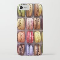 macarons iPhone & iPod Cases featuring Macarons  by Laura Ruth