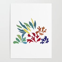 Henri Matisse Acanthus1953, Original Artwork, Prints, Posters, Tshirts, Bags, Men. Women, Kids Poster