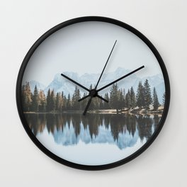 Italian Dolomites (landscape version) Wall Clock