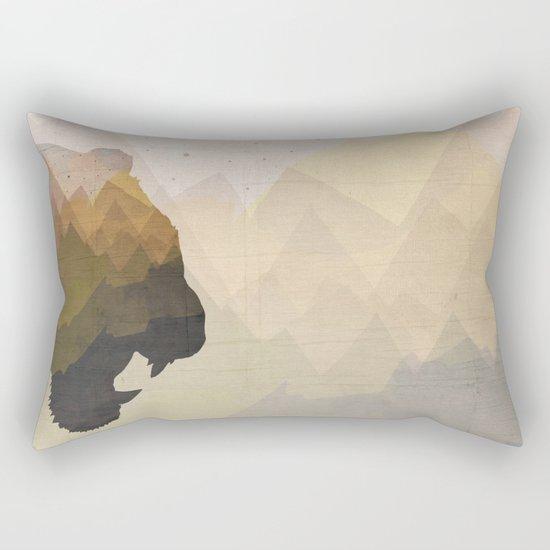 The Tiger's Kingdom Rectangular Pillow