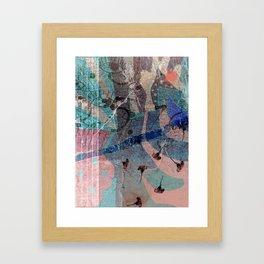 Look Around: A vibrant abstract design by Alyssa Hamilton Art  Framed Art Print