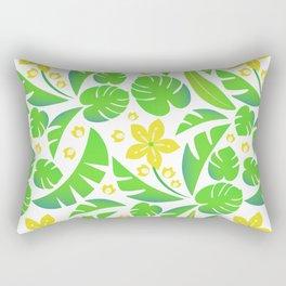 PERROQUET FLOWERS Rectangular Pillow