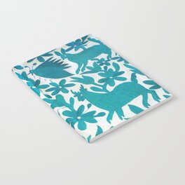 Otomi Cyan Notebook