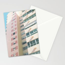 Pastel Facade Stationery Cards