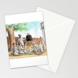 Punjabi village school Stationery Cards