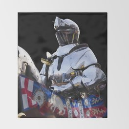 Knight and King Richards Standard Throw Blanket