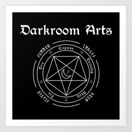 The Darkroom Arts Art Print