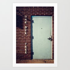 Missing letters Art Print