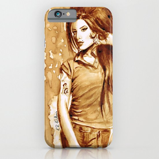 A little Amy in my coffee iPhone & iPod Case