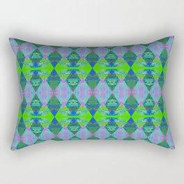 Diamond Train Rectangular Pillow