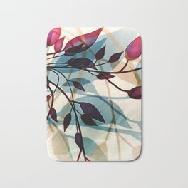 Flood of Leafs Bath Mat