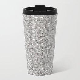 Weave Pattern Travel Mug