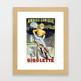 Gigolette Framed Art Print