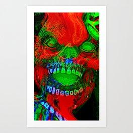 Halloween Scare Art Print