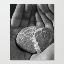 Threads of Stone Canvas Print
