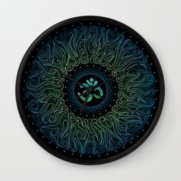 pranava yoga Wall Clock