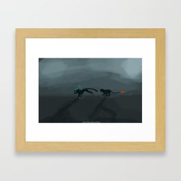 Out of Time and Out of Place Framed Art Print