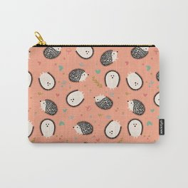Hedgegogs in the Forest Carry-All Pouch