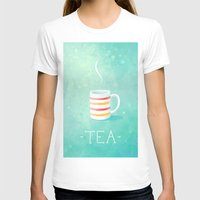 tea T-shirts featuring Tea by Freeminds