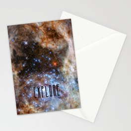 Explore - Space and the Universe Stationery Cards