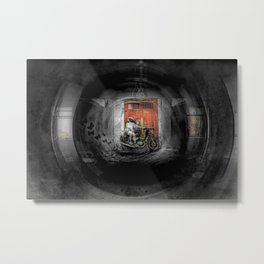 Thru The Lens Metal Print
