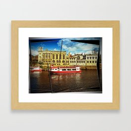 River Ouse Cruise Framed Art Print