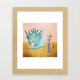 Aloe Framed Art Print