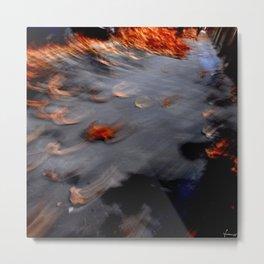 autumn, flies away Metal Print