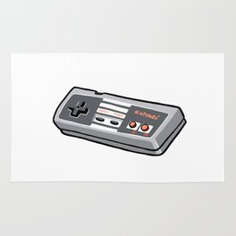 NES controller Rug